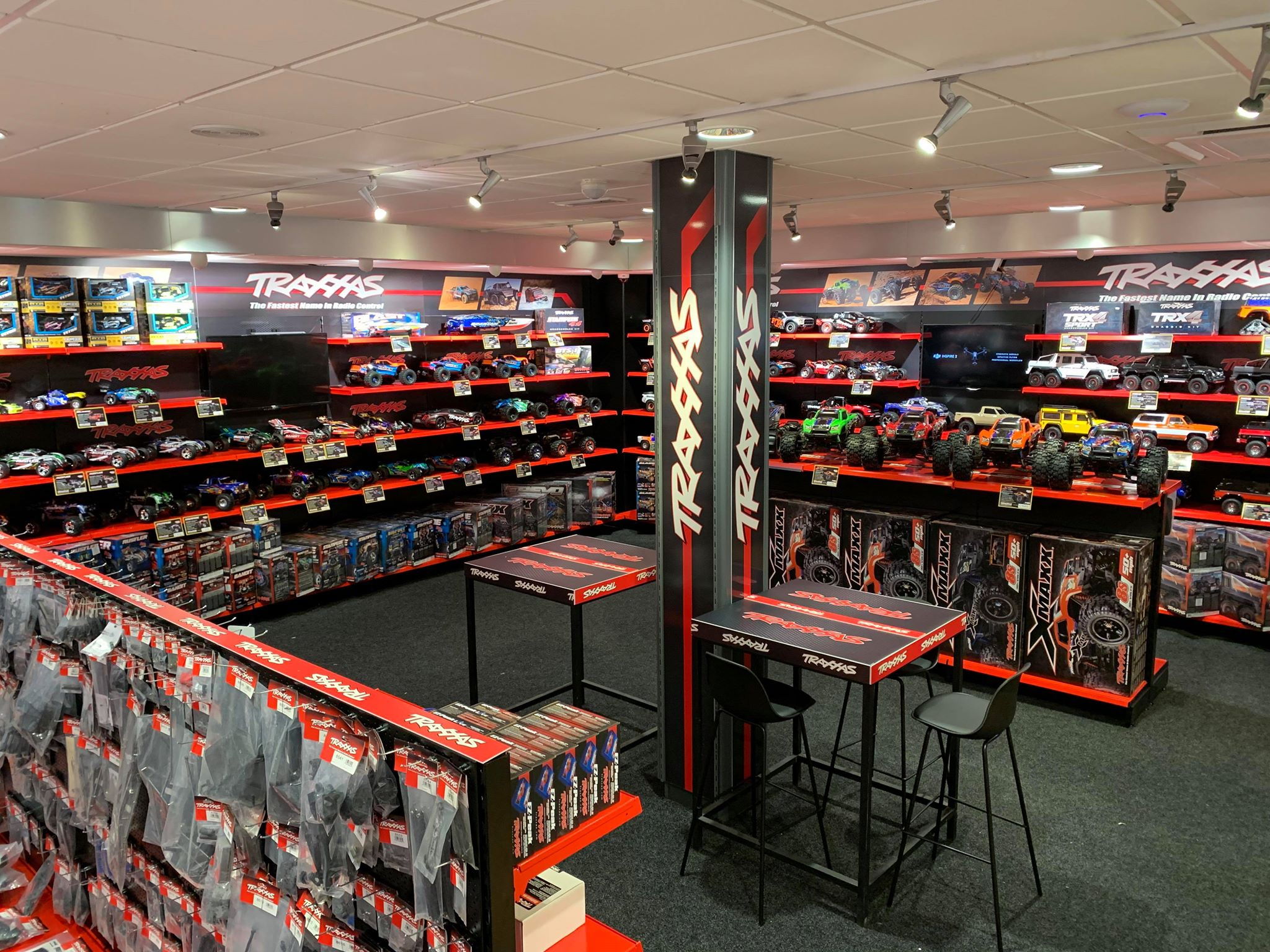 De Traxxas shop in shop is nu open!
