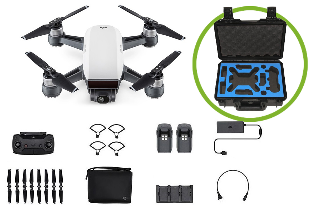 DJI Spark Fly More Combo met extra's
