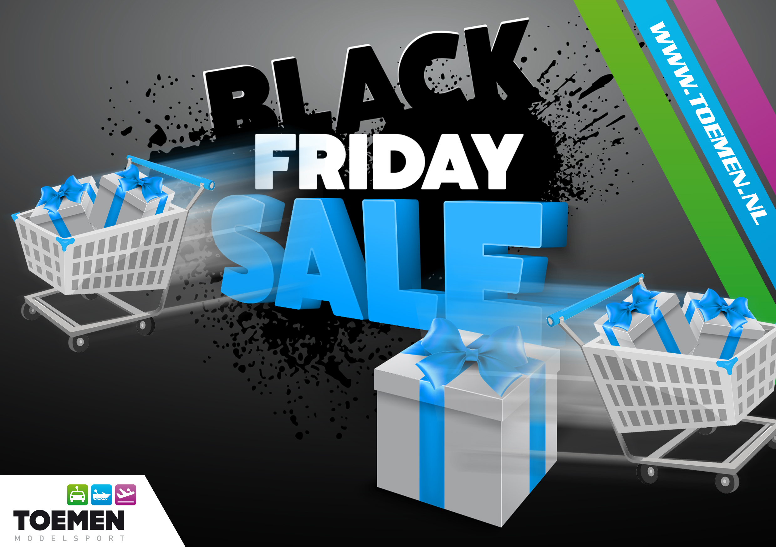 Toemen BLACK FRIDAY is nu actief !!