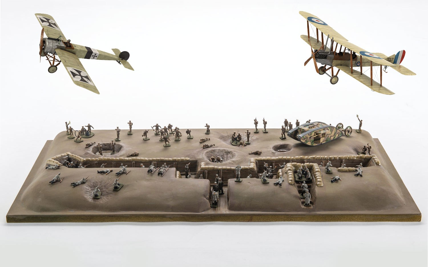 Airfix Battle Of The Somme Centenary Gift Set In 1 72