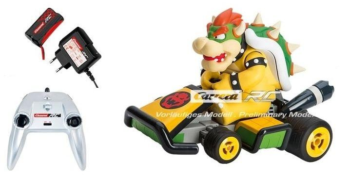 carrera mario kart 7 bowser afstandbestuurbare auto 2 4ghz. Black Bedroom Furniture Sets. Home Design Ideas