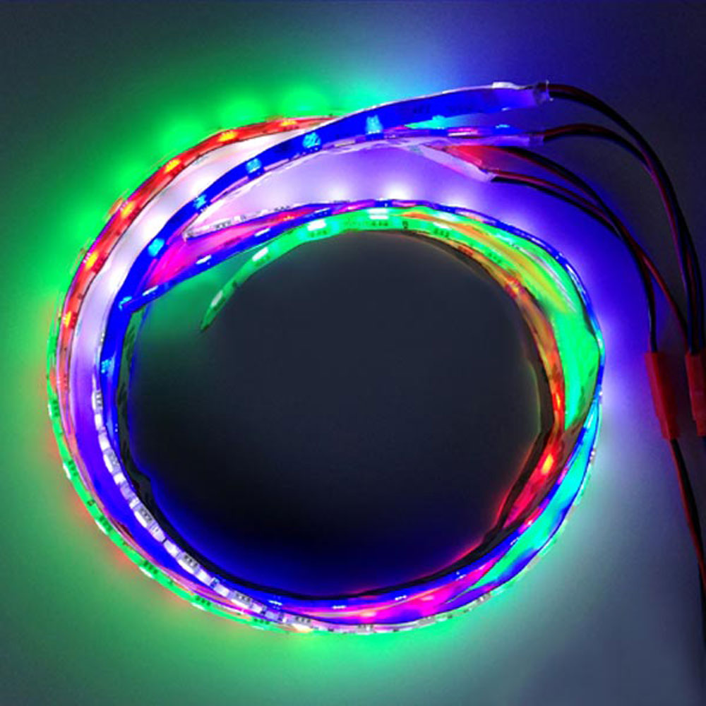 gt power led verlichting strip 20cm waterproof wit