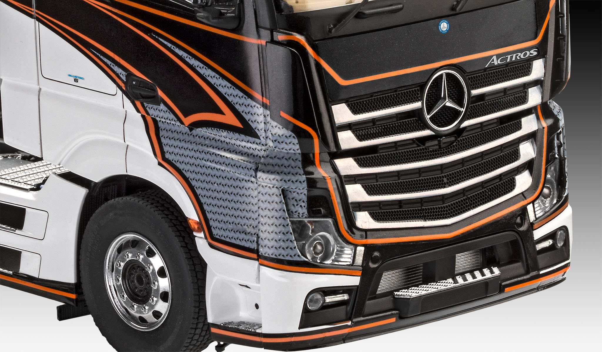 Niewiarygodnie Revell Mercedes-Benz Actros MP4 in 1:24 bouwpakket LQ51
