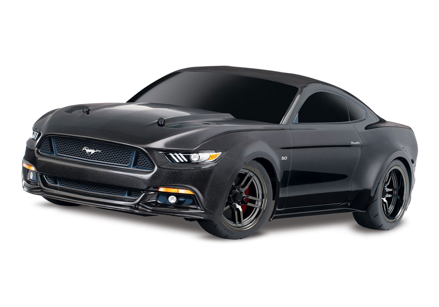 Traxxas Ford Mustang Gt on V6 Engine Exploded View