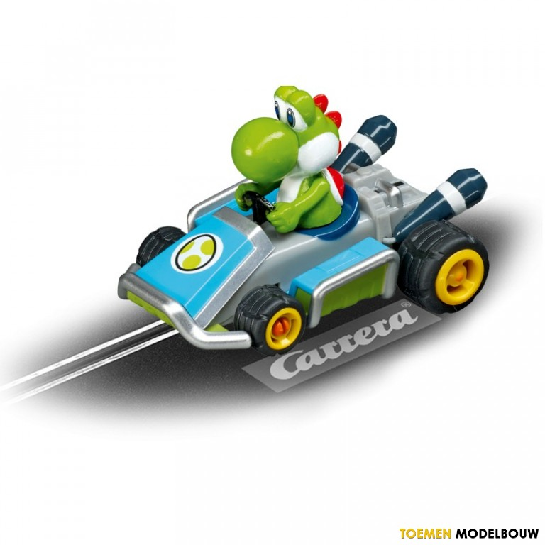 carrera go racebaan auto mario kart 7 yoshi 61268. Black Bedroom Furniture Sets. Home Design Ideas