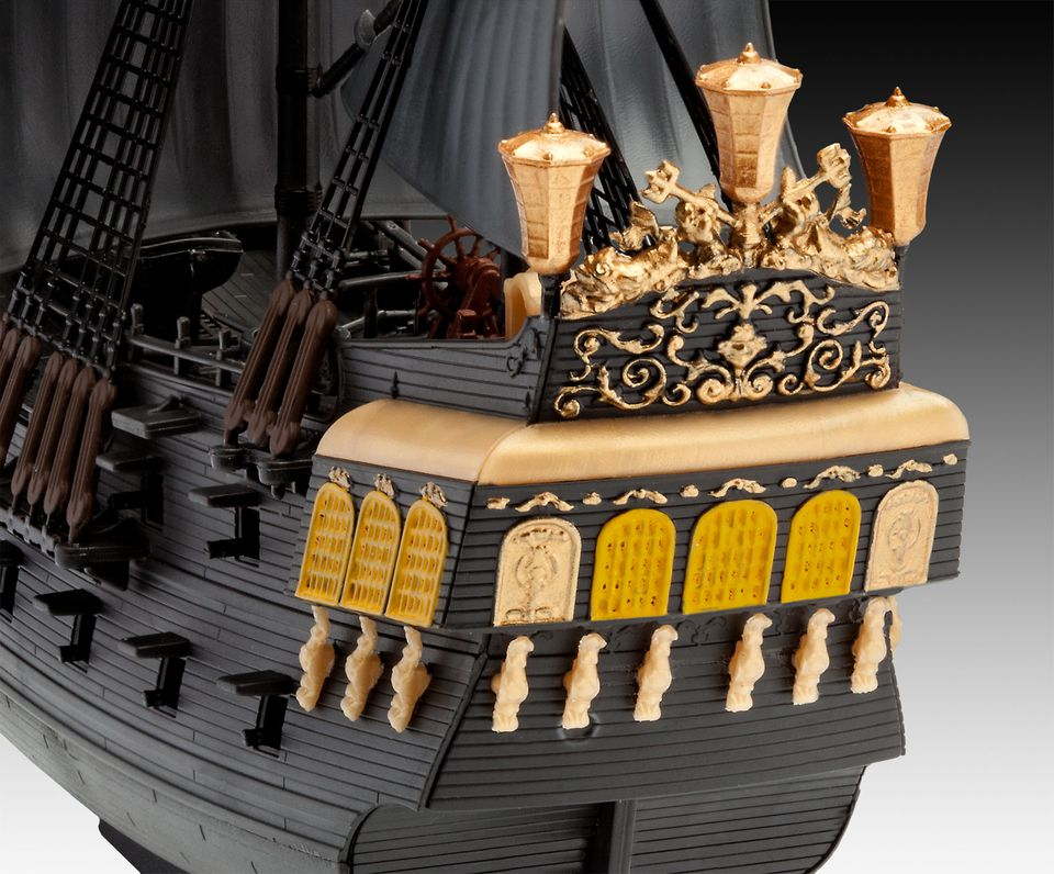 revell pirates of the caribbean black pearl bouwen 05499. Black Bedroom Furniture Sets. Home Design Ideas