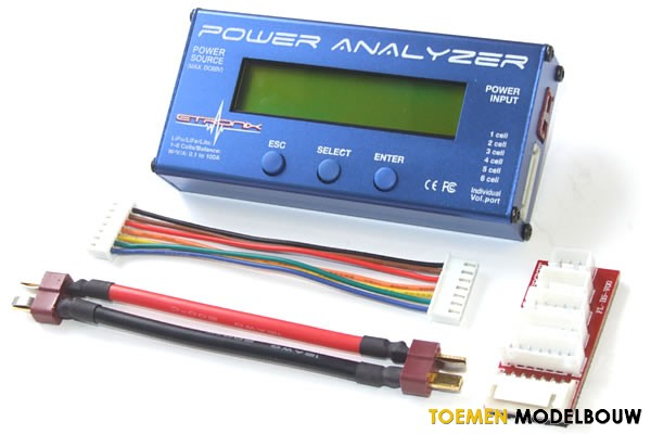 GT Power RC 130A Power Analyzer Battery