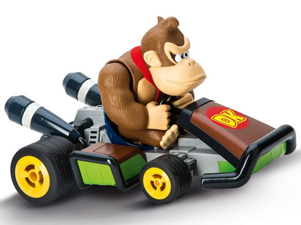 carrera mario kart 7 donkey kong afstandbestuurbare auto 2. Black Bedroom Furniture Sets. Home Design Ideas