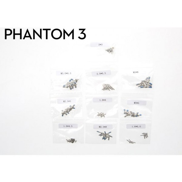 dji phantom 3 screw set. Black Bedroom Furniture Sets. Home Design Ideas