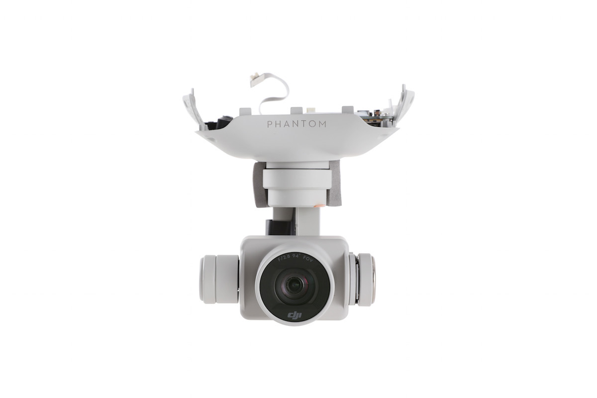 how to connect gimbal to dji phantom 3