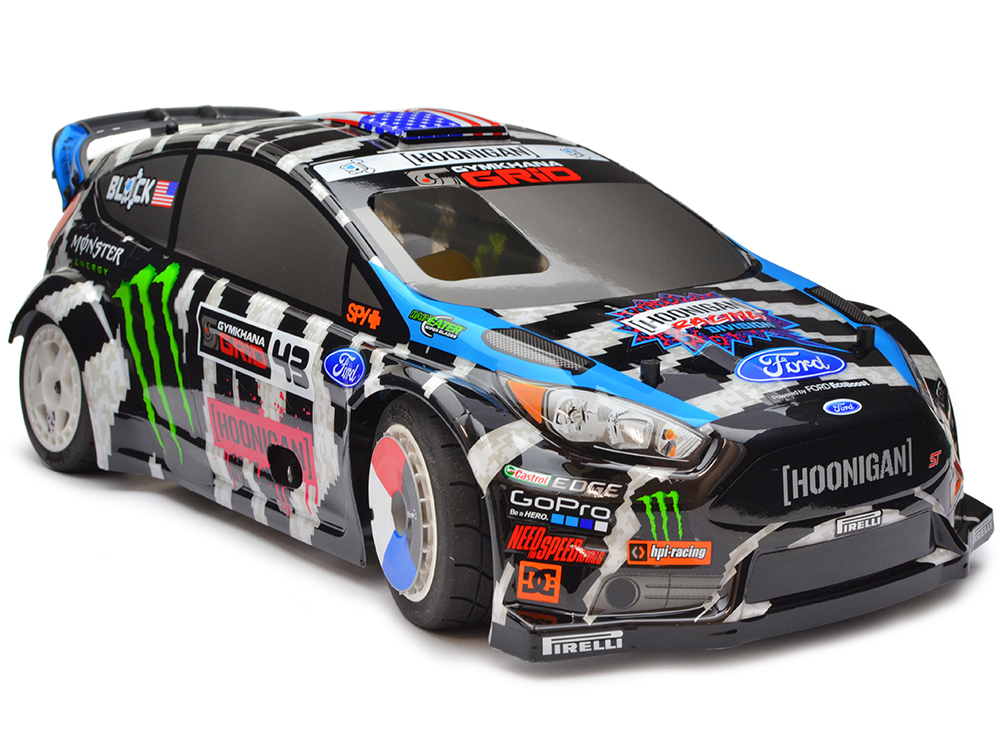 ken block wr8 3 0 ford fiesta st rx43 hpi114187. Black Bedroom Furniture Sets. Home Design Ideas