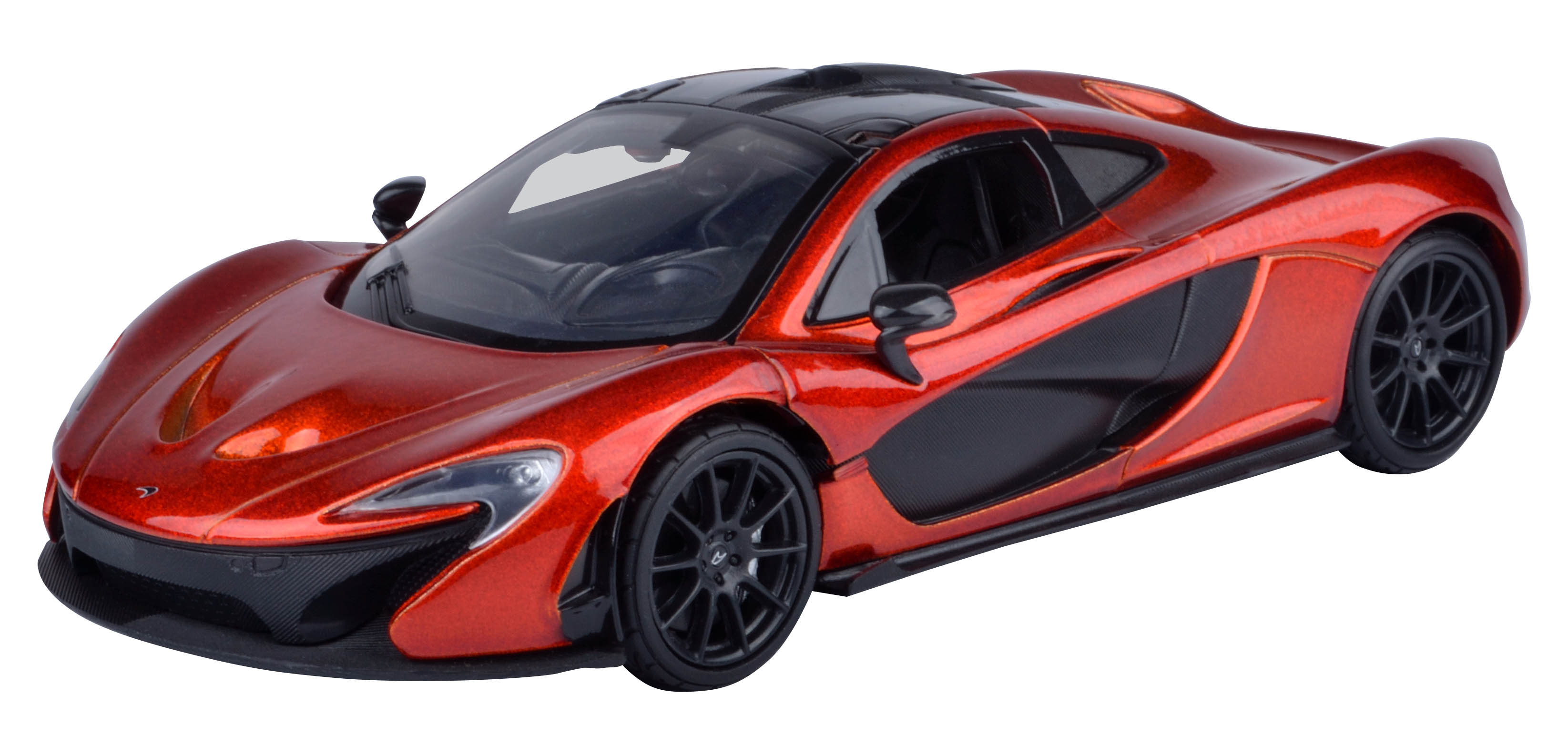 motor max mclaren p1 oranje zwart 1 24. Black Bedroom Furniture Sets. Home Design Ideas