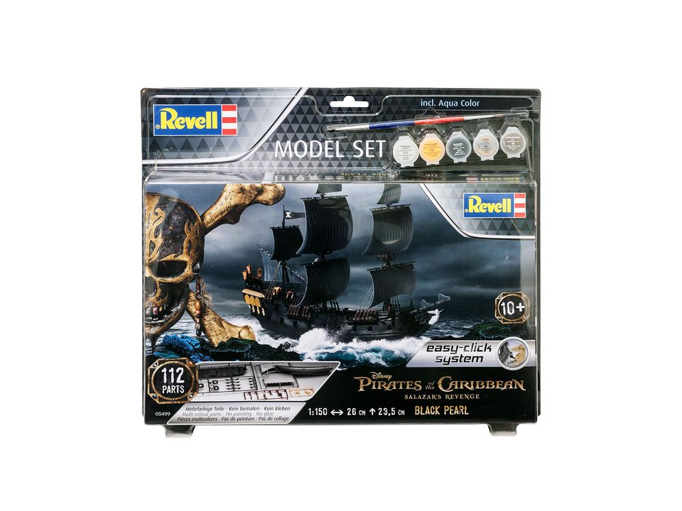 revell pirates of the caribbean black pearl bouwen 65499. Black Bedroom Furniture Sets. Home Design Ideas
