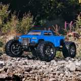 ARRMA Big Rock Crew Cab 4x4 3S BLX Brushless Monster Truck RTR Blue - Model 2020