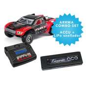 ARRMA Fury BLX brushless electro short course truck 2WD RTR - COMBO-set
