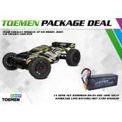 Team Corally SHOGUN XP 6S Model 2021 1/8 Truggy LWB RTR - inclusief Power Package