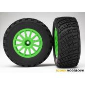 Tires & wheels - Green wheels BFGoodrich Rally - TRX7473X