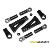 FRONT & REAR SUSPENSION ARM - HPI101012