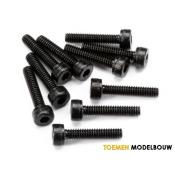 CAP HEAD SCREW M2x10mm 10pcs - HPIZ412