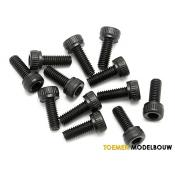 CAP HEAD SCREW M3x8mm 12pcs - HPIZ542