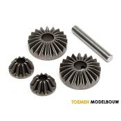 BEVEL GEAR SET GEAR DIFF - HPI86032