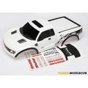 Body Ford Raptor® white painted - TRX5814X