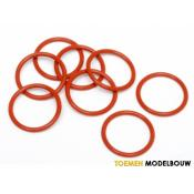 O-RING S15 15x1.5mm ORANGE 8pcs - HPI75071
