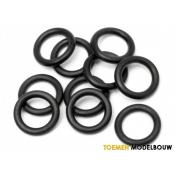 O-RING 4x1mm BLACK 10pcs - HPI75077