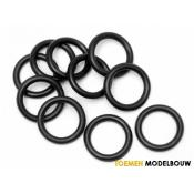 O-RING P10 10x2mm BLACK 10pcs - HPI75078