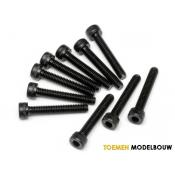 CAP HEAD SCREW M4x25mm 10pcs - HPI94510