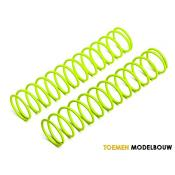 SHOCK SPRING 23x135x2.1mm 13COILS YELLOW 2pcs - HPI86756