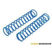 SHOCK SPRING 23x135x2.3mm 13COILS BLUE 2pcs - HPI86759
