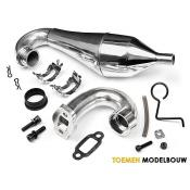 ALUMINUM TUNED PIPE SET BAJA - HPI87401