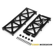 CHASSIS UNDER PLATE SET - HPI106890