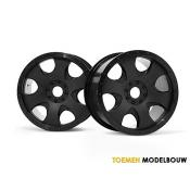 WARLOCK WHEEL BLACK 2pcs - HPI3191