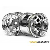CLASSIC KING WHEEL CHROME - HPI3062