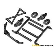 BODY MOUNT SET FRONT & REAR - HPI85417