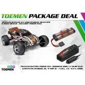Traxxas Rustler XL5 2WD Stadium Truck RTR 2.4Ghz Oranje - inclusief Power Pack