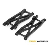 GRAPHITE REAR SUSPENSION ARM SET - HPI100409
