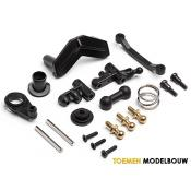 STEERING SERVO MOUNT & SERVO SAVER SET - HPI105517