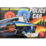 AMT Ford Interceptor Police Car 1:25 bouwpakket