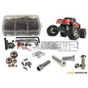 RCScrewZ - Traxxas Stampede XL5 Stainless Steel Screw kit