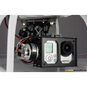 Aeroxcraft Brushless GoPro Hero3 Gimbal - Phantom Version
