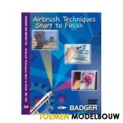 Badger Airbrush techniques - DVD