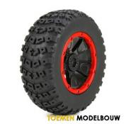 Left & Right Tire 1ea Premounted - LOS45004