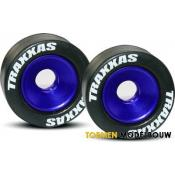 Wheels aluminum blue-anodized - TRX5186A