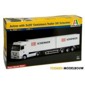 Italeri Actros - With Containers - 1:24 - 3865