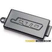 Exo-Carbon Finish - Chassis Top Plate Receiver Cover - TRX5524G