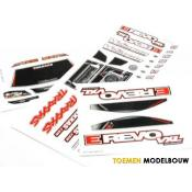Body 1:16 E-Revo VXL - Decal Sheets - TRX7113