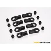 Rod Ends 1:16 Scale - TRX7059